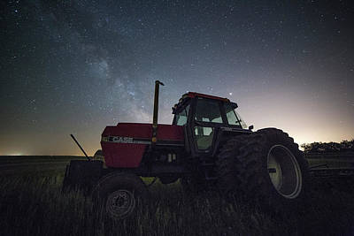 Photograph - Farming The Rift 6 by Aaron J Groen