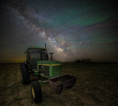 Photograph - Farming The Rift 7 by Aaron J Groen