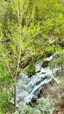 Photograph - Farmington Creek Flow by Jerry Sodorff