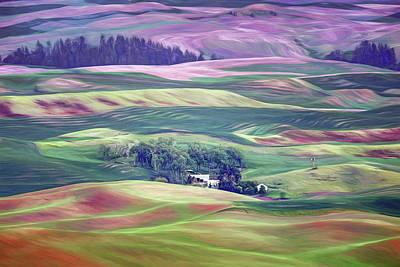 Photograph - Farmland Colors - No. 1 by Nikolyn McDonald