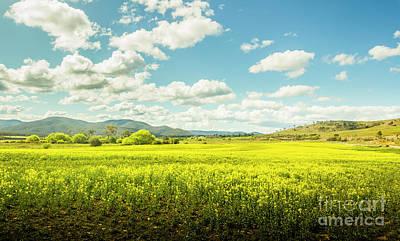 Nature Art Photograph - Farmland Colour by Jorgo Photography - Wall Art Gallery