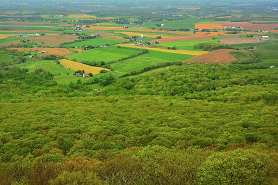 Photograph - Farmland From High Rock by Raymond Salani III