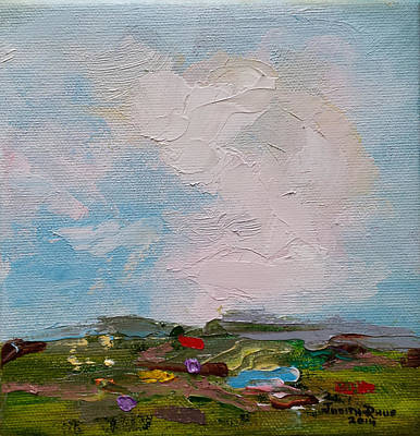 Painting - Farmland II by Judith Rhue