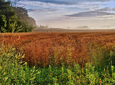 Photograph - Farmland by Nick Mares