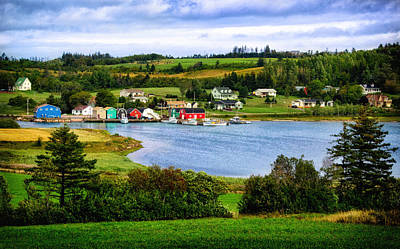 Photograph - Farmlands And Fishing Villages by Carolyn Derstine