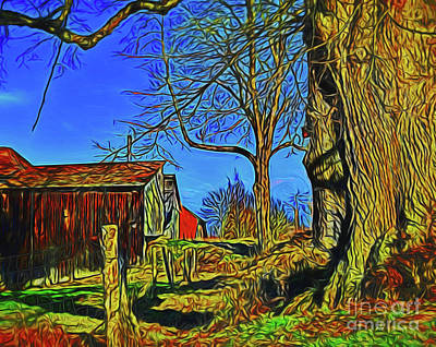 Photograph - Farmstead 14318 by Ray Shrewsberry