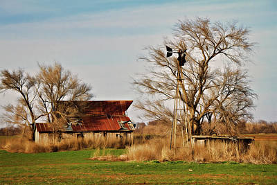 Photograph - Farmstead 2 by Lana Trussell