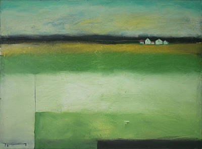 Painting - Farmstead On Highway 29 by Tim Nyberg
