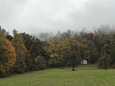 Photograph - Farmstead, West Virginia 2012 by Chris Honeyman