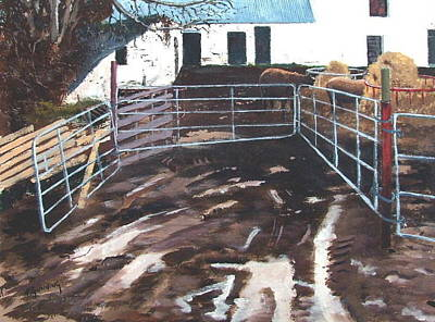Farmyard Original by Tony Gunning