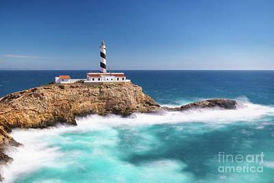 Photograph - Faro Cala Figuera by Hans- Juergen Leschmann