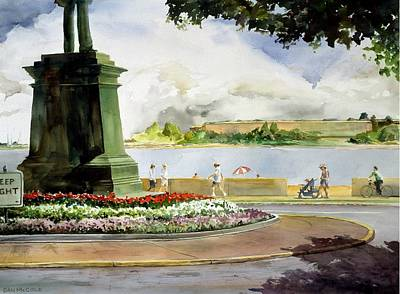 South Boston Painting - Farragut's Watch by Dan McCole