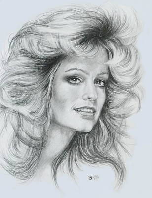 Drawing - Farrah by Barbara Keith