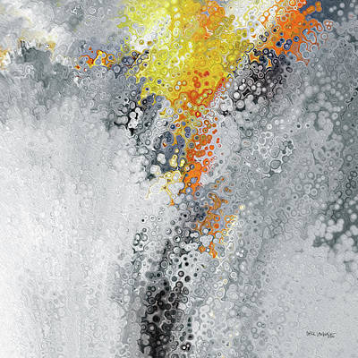 Painting - Farther Along. John 13 7 by Mark Lawrence