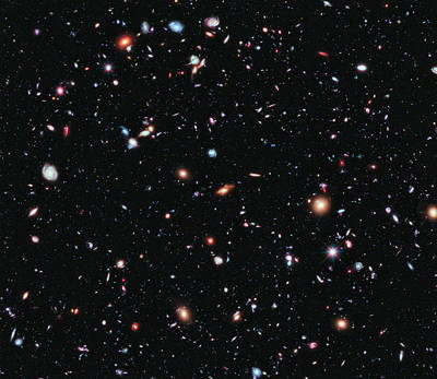 Exploration Photograph - Farthest Ever View Of The Universe by Artistic Panda