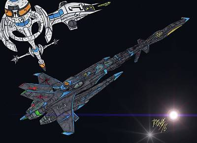 F.a.s. Phoenix Hawk Art Print