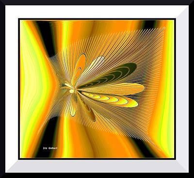 Digital Art - Fascination by Iris Gelbart