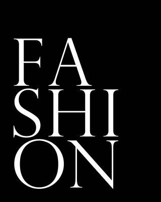 Mixed Media - Fashion - Typography Minimalist Print - Black And White by Studio Grafiikka
