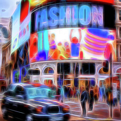 Abstract Airplane Art Rights Managed Images - Fashion Royalty-Free Image by Dave Whenham LRPS