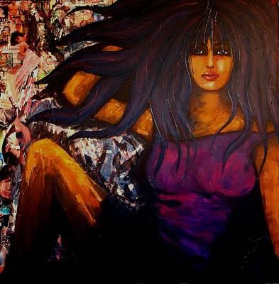 Painting - Fashion Diva by LaBadie