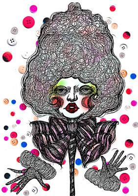 Fashion Doll Art Print