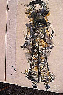 Mixed Media - Fashion Fun by Nancy Kane Chapman