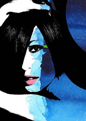 Faces Painting - Fashion Illustration by Ramneek Narang