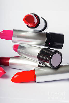 Still Life Photograph - Fashion Model Lipstick by Jorgo Photography - Wall Art Gallery