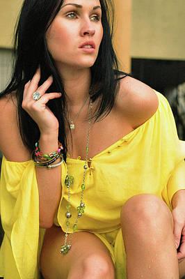 Megan Fox Digital Art - Fashion Shoots by Alicia Morales