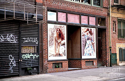 Photograph - Fashion Wall by John Rizzuto