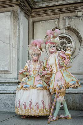 Carnevale Photograph - Fashionably Pink by Cheryl Schneider