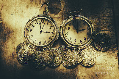 Nickel Photograph - Fashioning The Time And Money Conundrum by Jorgo Photography - Wall Art Gallery