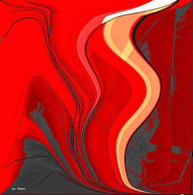Digital Art - Fasination Four by Iris Gelbart