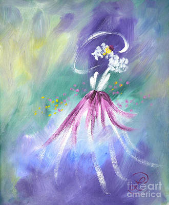Painting - Fashionista by Lynda Cookson