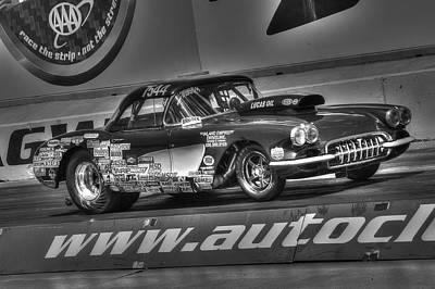Photograph - Fast Corvette by Richard J Cassato