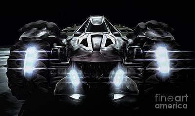 Heath Ledger Digital Art - Fast End Evil by Drazen Kirchmayer