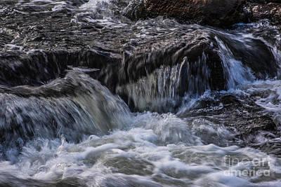 Photograph - Fast Falling Water by Grace Grogan