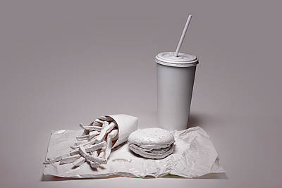 Meal Photograph - Fast Food Drive Through by Tom Mc Nemar