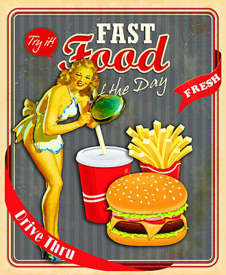 Fast Food Of The Day Original