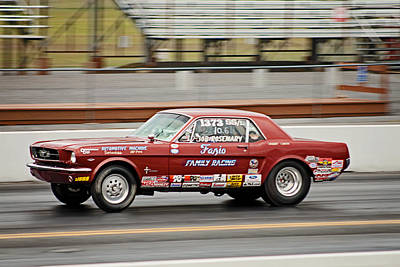 Photograph - Fast Ford by Michael Porchik