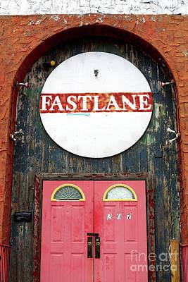 Photograph - Fast Lane Asbury Park by John Rizzuto