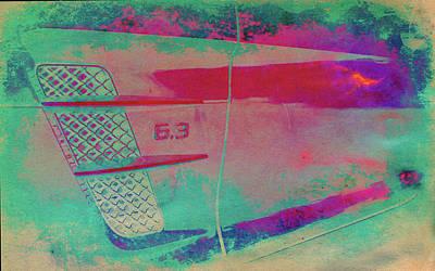 Digital Art - Fast Lane by Greg Sharpe
