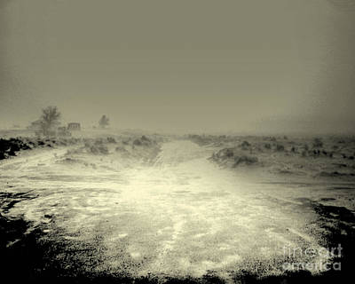 Photograph - Fast Moving Flash Flood At My Feet by Merton Allen