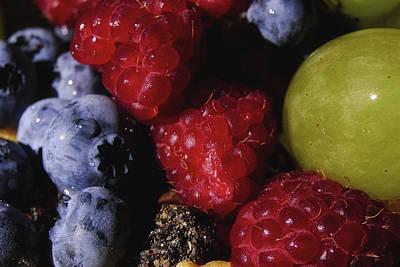 Blue Grapes Photograph - Fast Or Feast by Marcus Hammerschmitt