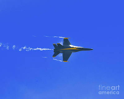 Photograph - Fast Pass - Us Navy Blue Angels by Scott Cameron