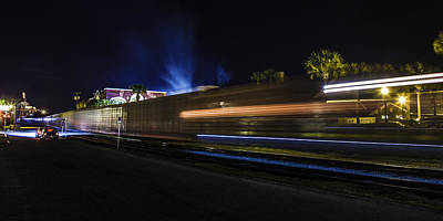 Photograph - Ghost Train  by Paula Porterfield-Izzo