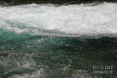 Photograph - Fast Water by Edward R Wisell