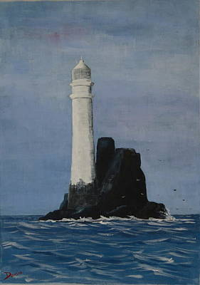 Painting - Fastnet 2 by Phil Davis