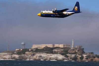 Photograph - Fat Albert Buzzes The San Francisco Bay by John King