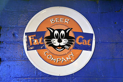 Photograph - Fat Cat Beer by David Lee Thompson